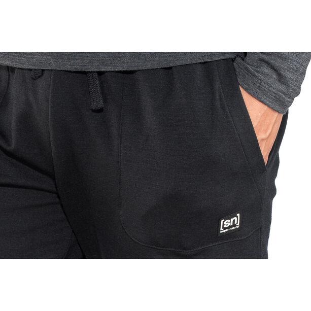 super.natural Essential Cuffed Pants Herr jet black