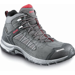 Meindl Journey Mid GTX Shoes Herr anthracite/dark red anthracite/dark red