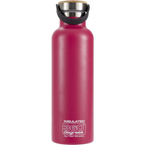 360° degrees Vacuum Insulated Drink Bottle 750ml pink pink
