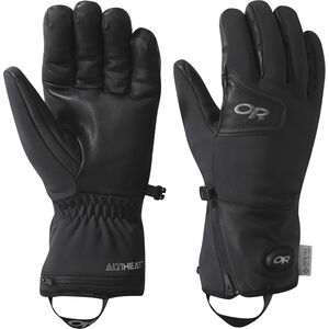 Outdoor Research Stormtracker Heated Sensor Gloves Black Black