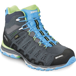Meindl X-SO 70 Mid GTX Shoes Dam turquoise/anthracite turquoise/anthracite