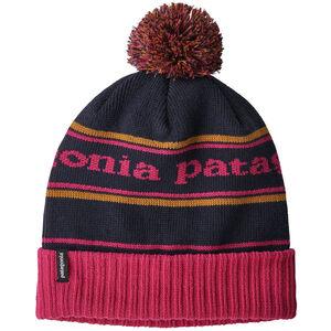 Patagonia Powder Town Beanie park stripe/craft pink w/navy blue park stripe/craft pink w/navy blue