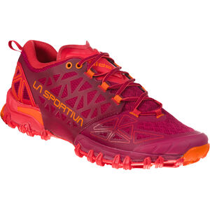 La Sportiva Bushido II Trail Running Shoes Dam beet/garnet beet/garnet