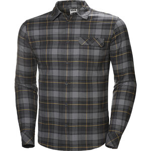 Helly Hansen Classic Check LS Shirt Herr charcoal plaid charcoal plaid