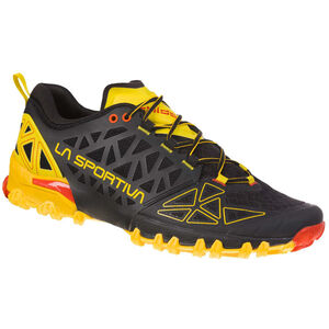 La Sportiva Bushido II Trail Running Shoes Herr black/yellow black/yellow