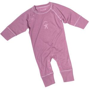 Isbjörn Husky Jumpsuit Baselayer Spädbarn dusty pink dusty pink