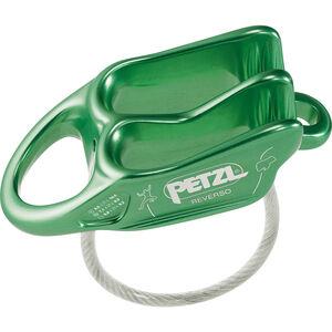 Petzl Reverso Belay Device green green