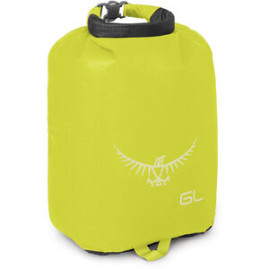 Osprey Ultralight Drysack 6 L electric lime electric lime
