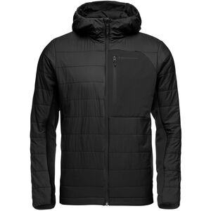 Black Diamond Aspect Wool Hoody Herr Black Black