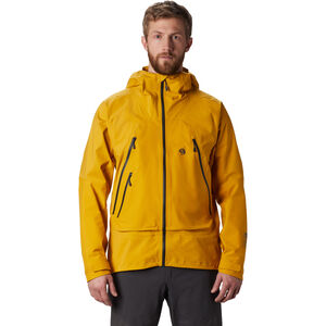 Mountain Hardwear High Exposure Gore-Tex C-Knit Jacket Herr Gold Hour Gold Hour