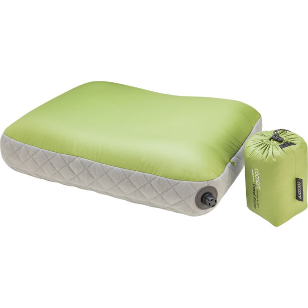 Cocoon Air Core Pillow Ultralight Mid wasabi/grey
