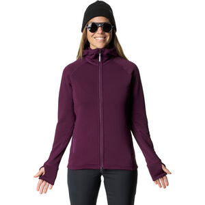 Houdini Power Air Houdi Fleece Jacket Dam pumped up purple pumped up purple