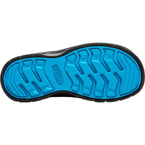 Keen Hikeport WP Mid Shoes Barn black/blue jewel
