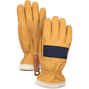 Hestra Njord Gloves 5-Finger marin/naturbrun marin/naturbrun