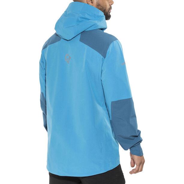 Norrøna Trollveggen Flex1 Jacket Herr signal blue