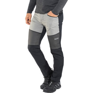 GORE WEAR H5 Gore Windstopper Hybrid Pants Herr black/terra grey black/terra grey