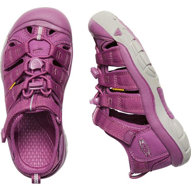 Keen Newport H2 Sandals Ungdomar grape kiss
