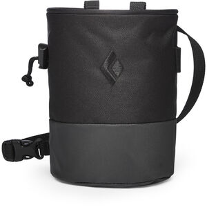Black Diamond Mojo Zip Chalk Bag Black/Slate Black/Slate
