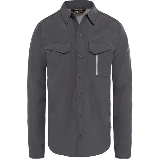 The North Face Sequoia L/S Shirt Herr asphalt grey/mid grey