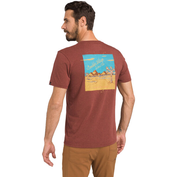 Prana Desert Air T-Shirt Herr Maple Heather