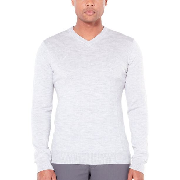 Icebreaker Shearer V Sweater Herr steel heather