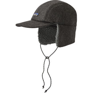 Patagonia Recycled Wool Ear Flap Cap forge grey forge grey