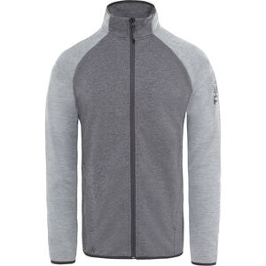 The North Face Ondras II Jacket Herr tnf black heather/mid grey heather tnf black heather/mid grey heather