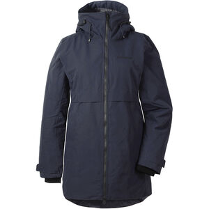 Didriksons 1913 Helle Parka Dam Dark Night Blue Dark Night Blue
