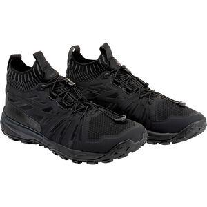 Mammut Saentis Knit Low Shoes Herr black-phantom black-phantom