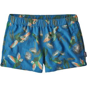 Patagonia Barely Baggies Shorts Dam parrots/port blue parrots/port blue