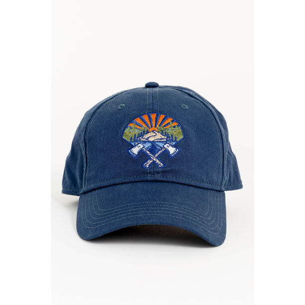 United By Blue Axe Crest Baseball Hat Navy