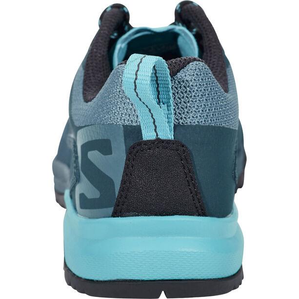 Salomon X Alp SPRY Shoes Dam mallard blue/reflecting pond/blue bird