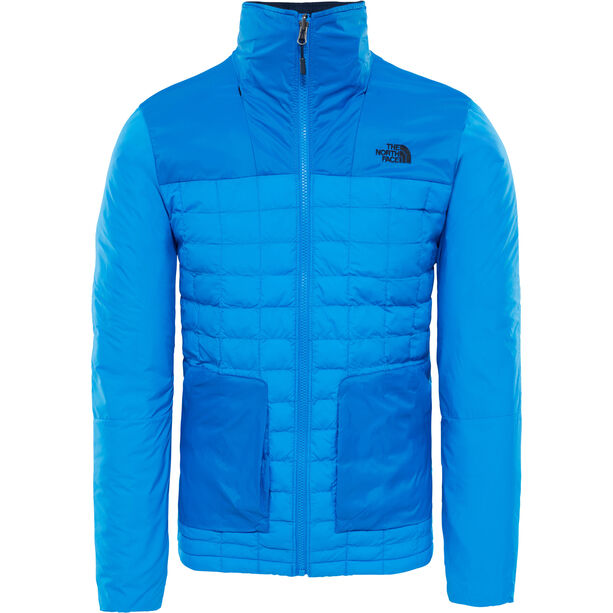 The North Face ThermoBall Full Zip In Jacket Herr bomber blue