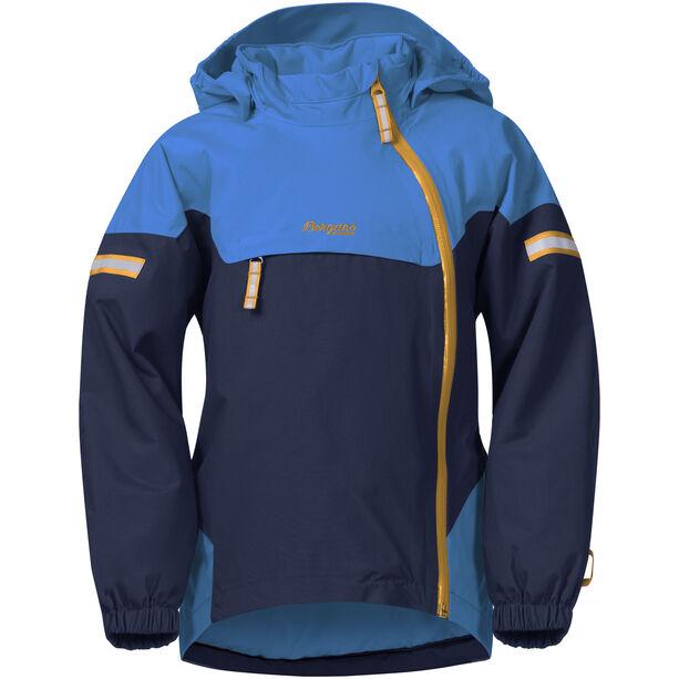 Bergans Ruffen Insulated Jacket Barn navy/athensblue/desert