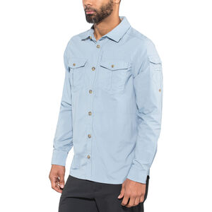 Craghoppers NosiLife Adventure II Long Sleeved Shirt Herr fogle blue fogle blue