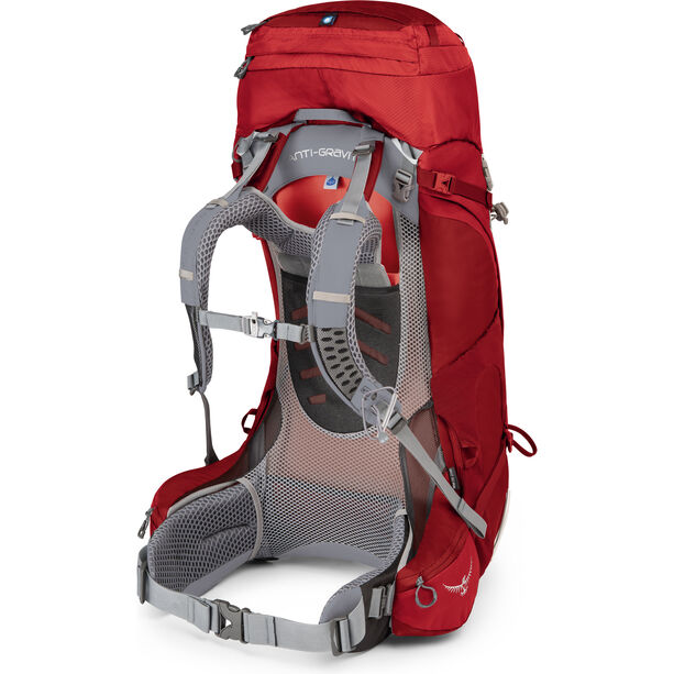Osprey Ariel AG 55 Backpack Dam picante red