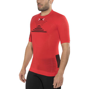 X-Bionic Effektor Power Running Shirt SS Herr flash red/black flash red/black