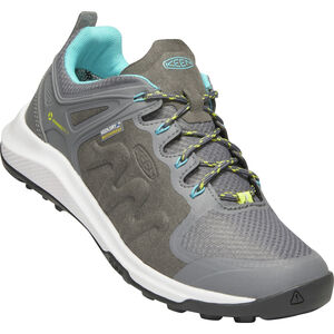 Keen Explr WP Shoes Dam Steel Grey/Bright Turquoise Steel Grey/Bright Turquoise