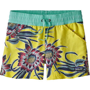 Patagonia Costa Rica Baggies Shorts Flickor cereus flower: spire yellow cereus flower: spire yellow
