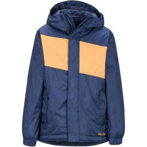 Marmot PreCip Eco Insulate Jacket Pojkar arctic navy/ember arctic navy/ember