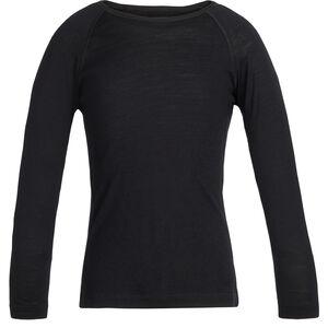 Icebreaker 200 Oasis LS Crewe Shirt Barn black black