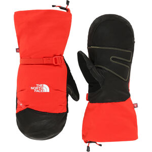 The North Face Summit Belay Mittens Herr fiery red fiery red