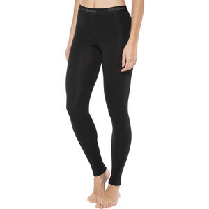 Woolpower Lite Long Johns Dam black black