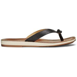 OluKai Nohie Sandals Dam black/tan black/tan