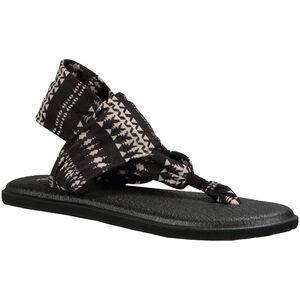 Sanük Yoga Sling 2 Prints Sandals Dam black/natural koa tribal black/natural koa tribal