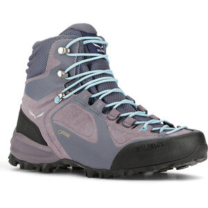 SALEWA Alpenviolet GTX Mid Shoes Dam grisaille/ethernal blue grisaille/ethernal blue