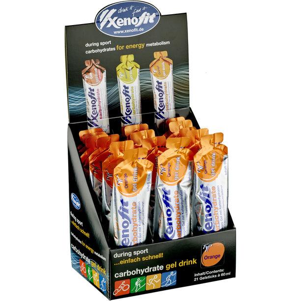 Xenofit Carbohydrate Hydro Gel Box 21x60ml Orange