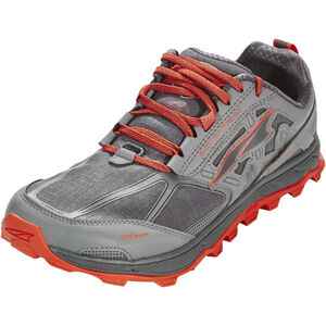 Altra Lone Peak 4 Running Shoes Herr gray/orange gray/orange