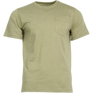 United By Blue Standard Printed Pocket SS Tee Herr Olive Olive