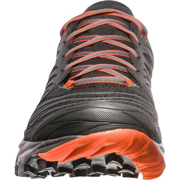 La Sportiva Akasha Shoes Herr black/tangerine
